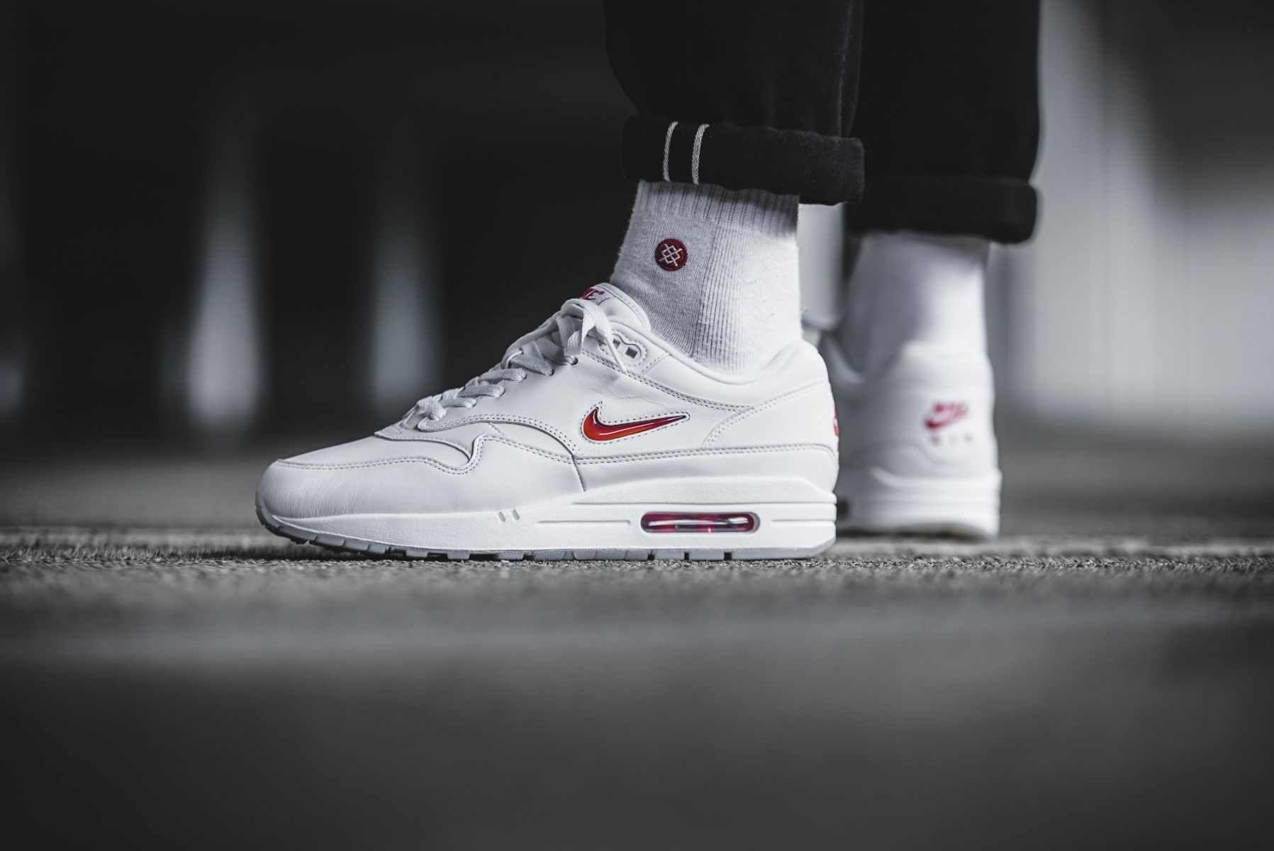 And White Red 34ef8 Air Max 1 Jewel 1443a Ireland QtsrdCxh