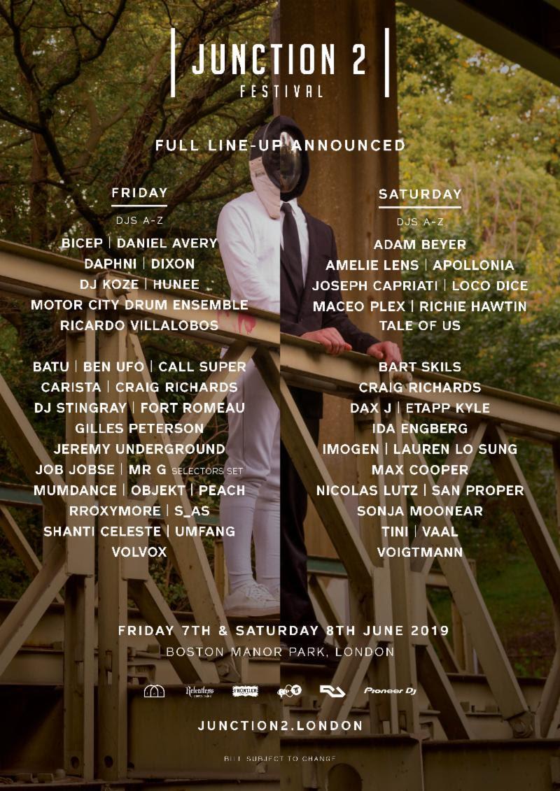 Junction 2 2019 full lineup