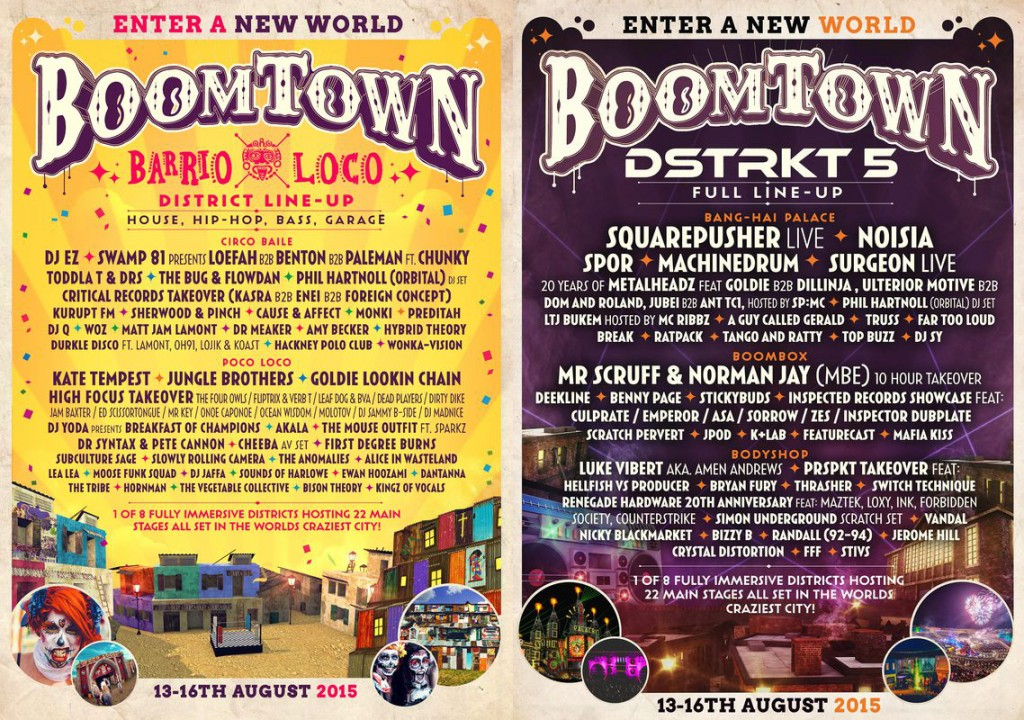 Boomtown - flyers