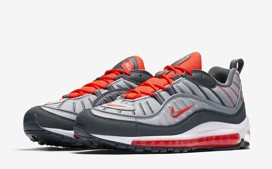 on sale 83175 d7f2e Crepe Check - NIKE AM98 // Wolf Grey | In Reach Magazine