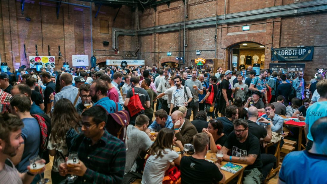 Inside London Craft Beer Festival
