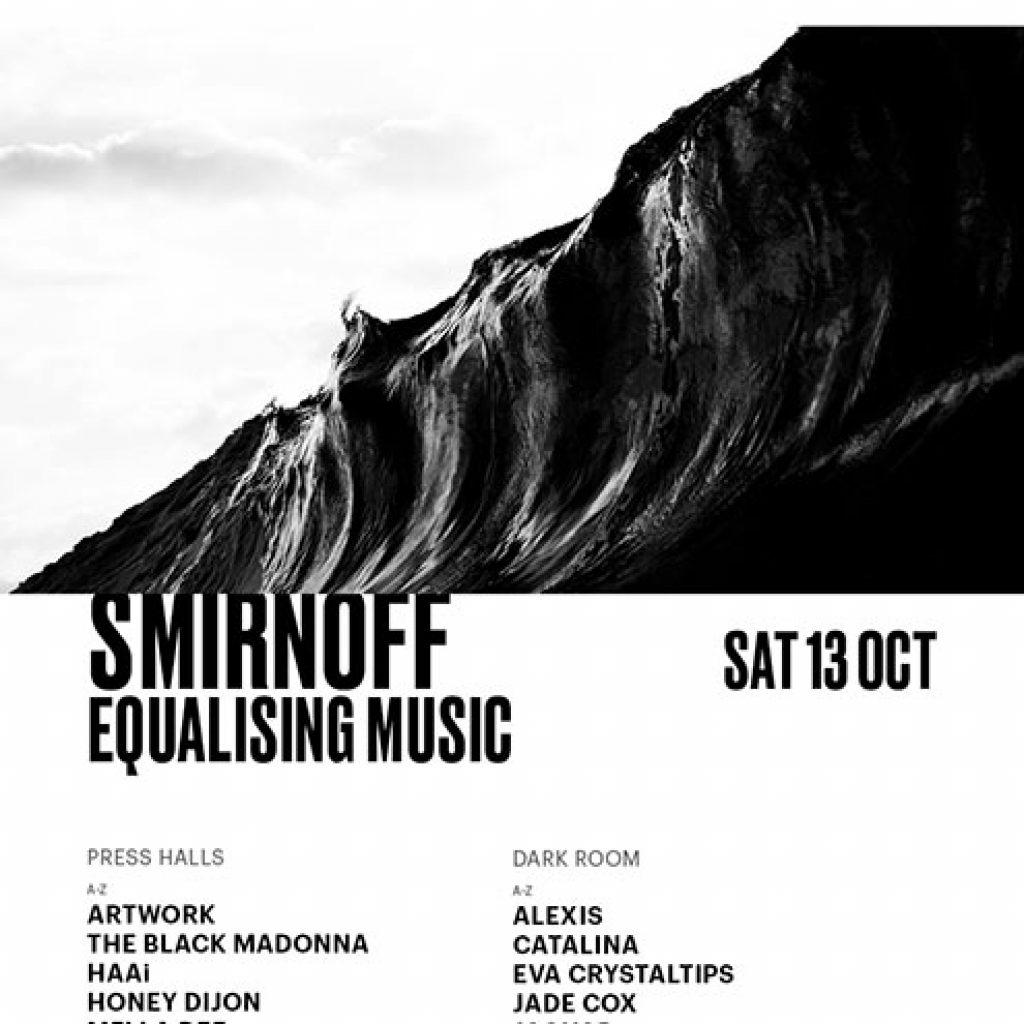 Smirnoff Equalising Music Printworks